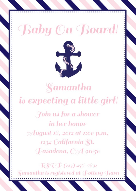 baby shower, birthday party, invitation, hello brielle designs