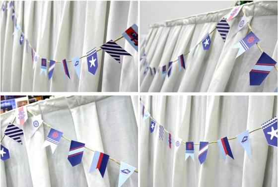 flag garland bunting