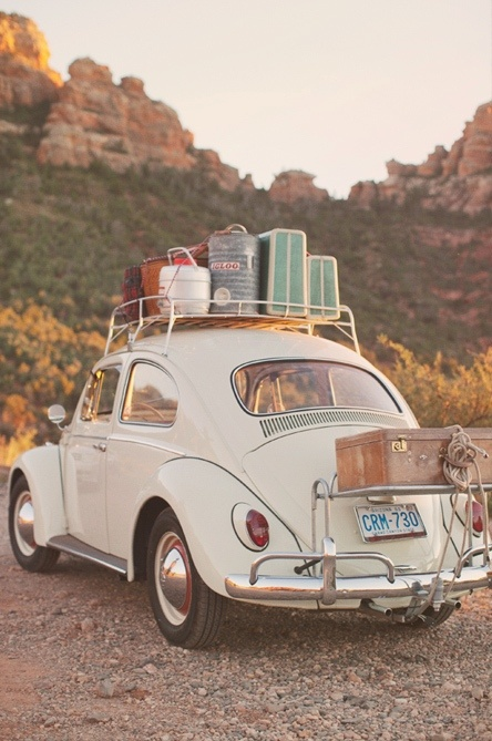 summer road trip vw bug
