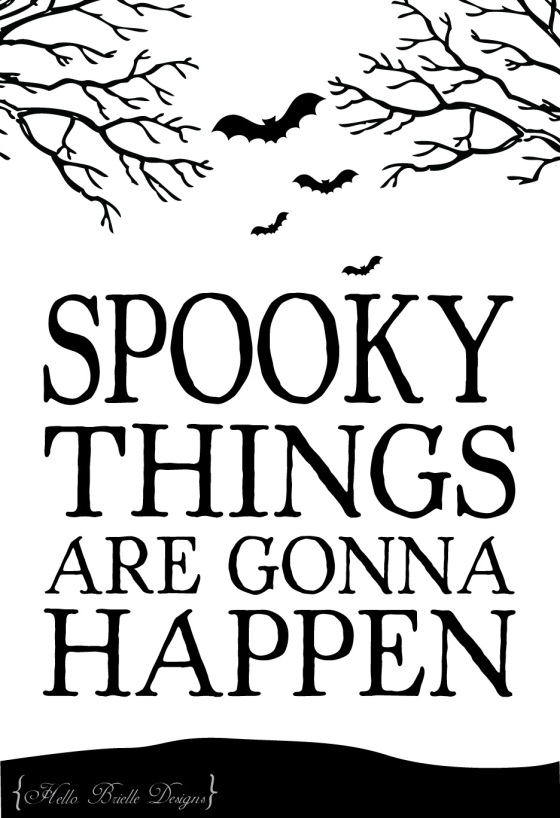 spooky, scary, bats