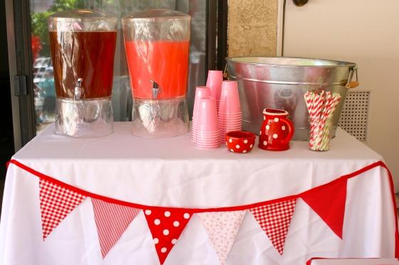 Strawberry Shortcake, three year old birthday party, strawberry patch