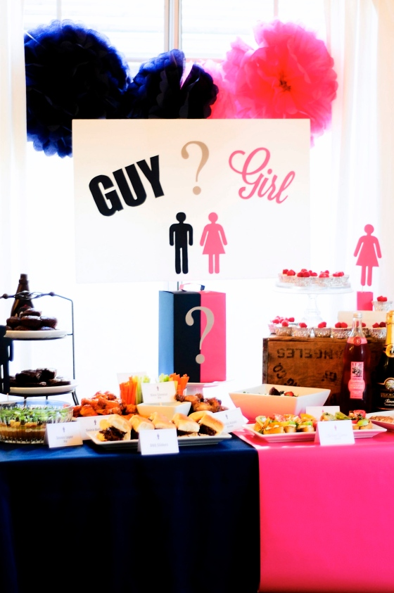 Classy Adult Gender Reveal Party
