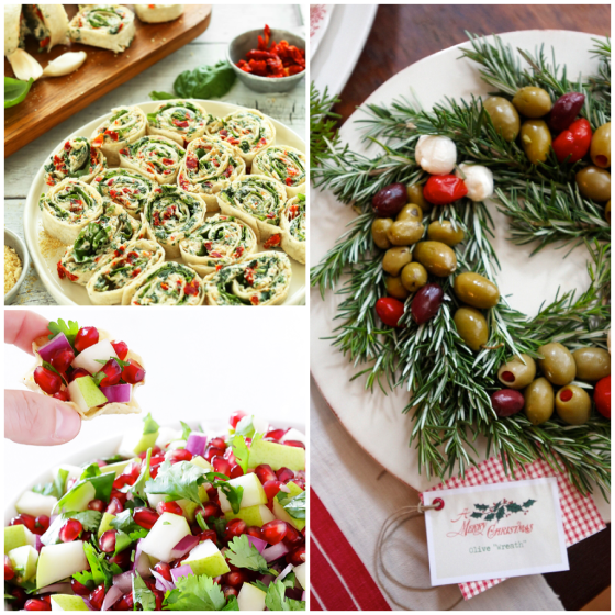 Christmas Appetizers layout 1